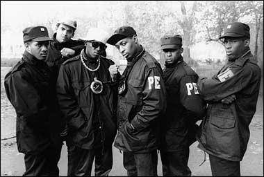 '90s rap group, Public Enemy (photo via Photobucket)
