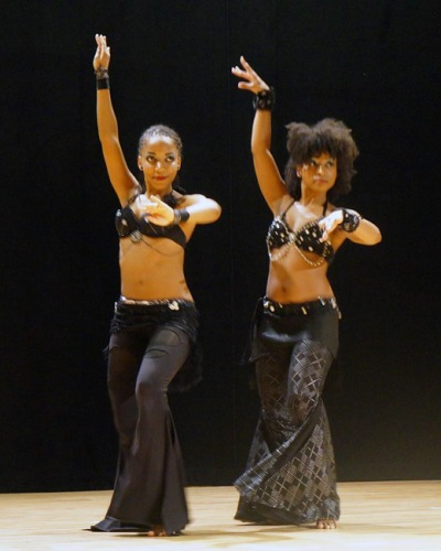 Two of my favorite dancers, Rin Ajna & Ebony