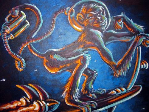 GSF-Yuri.painting.monkey